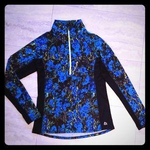 RBX track jacket front half zip
